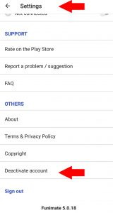funimate-how-to-delete-account-2